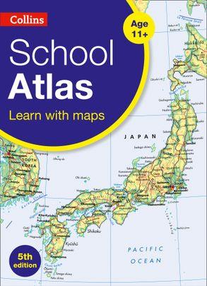 Australia Atlas Map.Collins Primary Atlases Collins School Atlas Harpercollins Australia