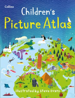 Cover image - Collins Children's Picture Atlas [Third Edition]
