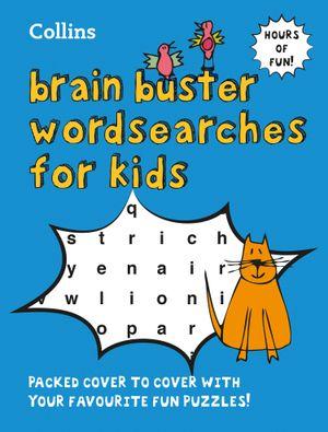 Kids' Brain Busters Wordsearch
