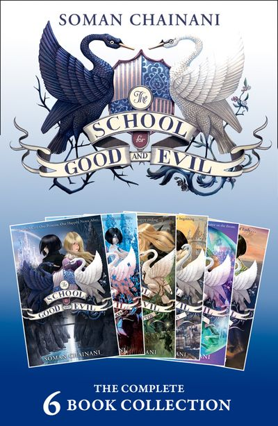 The School for Good and Evil: The Complete 6-book Collection: (The School for Good and Evil, A World Without Princes, The Last Ever After, Quests for Glory, A Crystal of Time, One True King) (The School for Good and Evil)