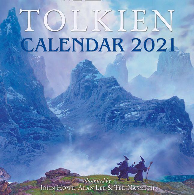 Tolkien Calendar 2022.Tolkien Calendar 2021 J R R Tolkien Calendar