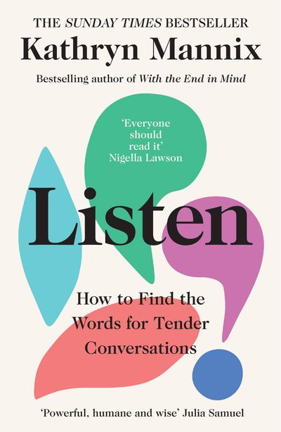 Listen: How to find the words for tender conversations