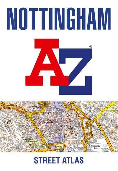 Nottingham A-Z Street Atlas [Ninth Edition]