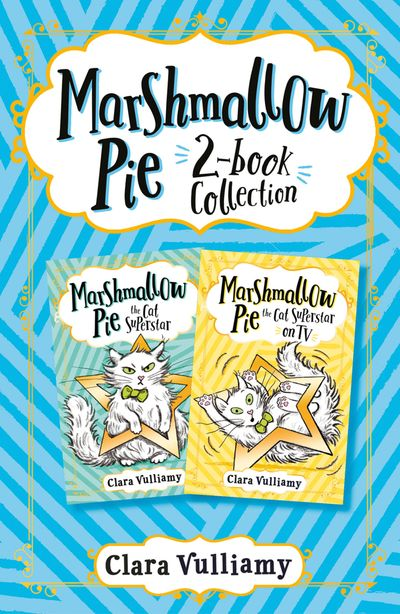 Marshmallow Pie 2-book Collection, Volume 1: Marshmallow Pie the Cat Superstar, Marshmallow Pie the Cat Superstar on TV