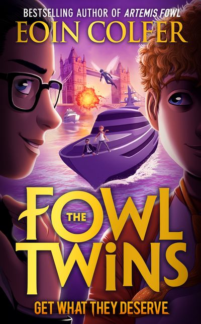 Get What They Deserve (The Fowl Twins, Book 3)