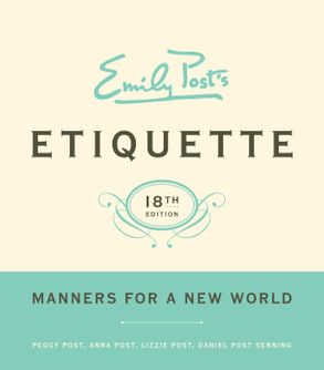 cover image emily posts etiquette 18th edition