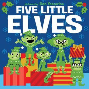 Cover image - Five Little Elves