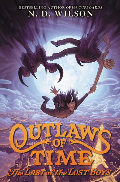 Outlaws Of Time #3: The Last Of The Lost Boys