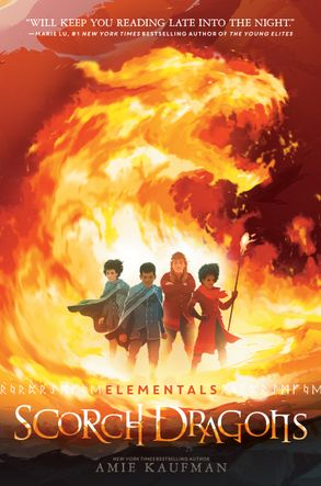 Cover image - Elementals: Scorch Dragons
