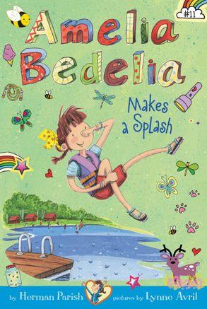 amelia bedelia chapter book 11 amelia bedelia makes a splash