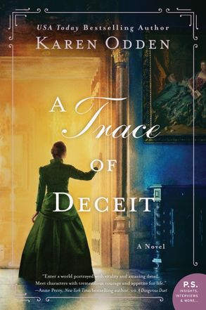 Cover image - A Trace of Deceit: A Novel