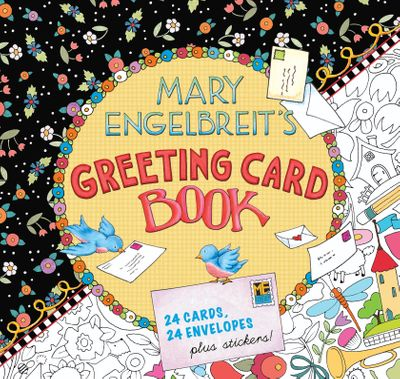 Mary Engelbreit's Greeting Card Book: 24 Cards, 24 Envelopes, Plus Stickers!