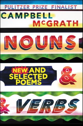 Cover image - Nouns & Verbs: New And Selected Poems