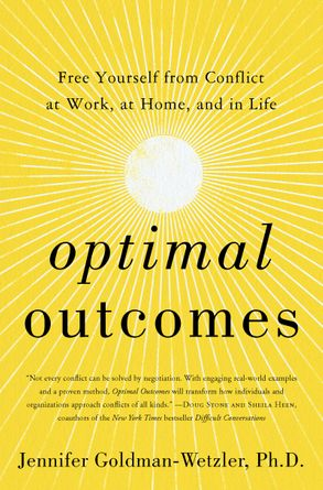 Cover image - Optimal Outcomes: Free Yourself from Conflict at Work and Home