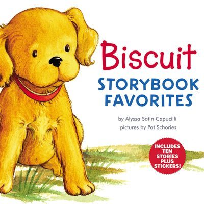 Biscuit Storybook Favorites: Includes 10 Stories Plus Stickers!