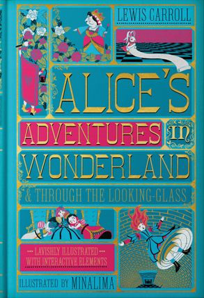 Cover image - Alice's Adventures In Wonderland & Through The Looking-Glass [Illustrated Edition]