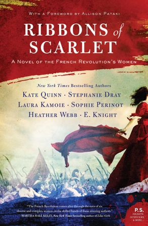 Cover image - Ribbons Of Scarlet: A Novel Of The French Revolution's Women