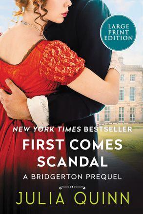 First Comes Scandal [Large Print] :HarperCollins Australia