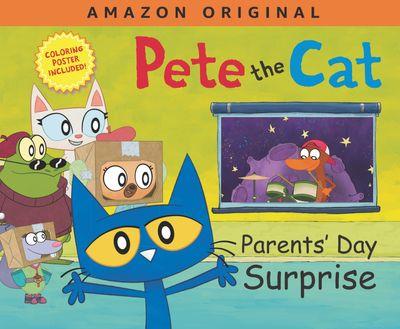 Pete the Cat Parents' Day Surprise