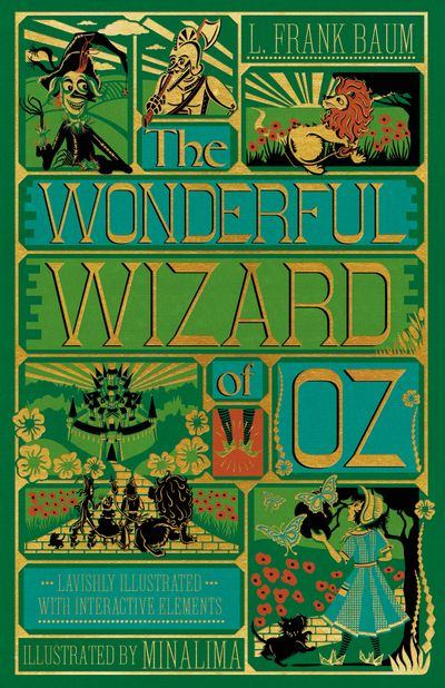 The Wonderful Wizard Of Oz [Illustrated With Interactive Eleme
