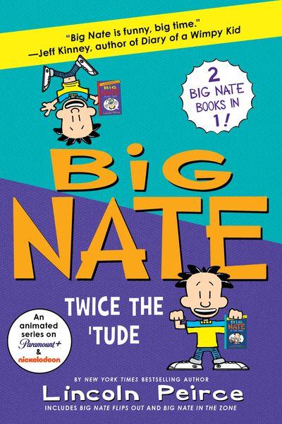 Big Nate Books 5 & 6 Bind-up