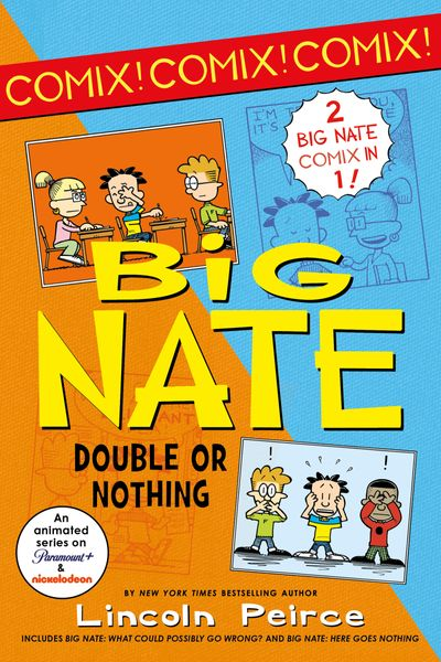 Big Nate Comix 1 & 2 Bind-up