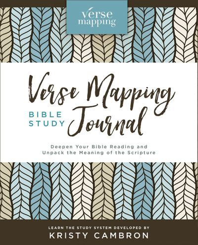 Verse Mapping Bible Study Journal