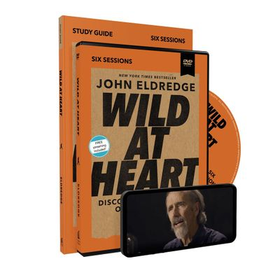 Wild at Heart Study Guide with DVD: Discovering the Secret of a Man's Soul