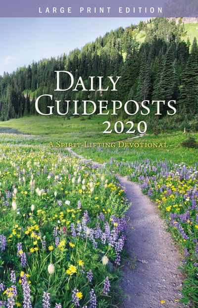 Daily Guideposts 2020 [Large Print]