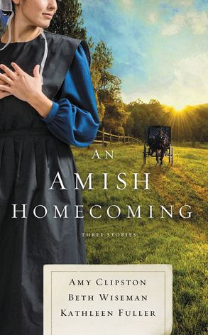 Cover image - An Amish Homecoming: Three Stories