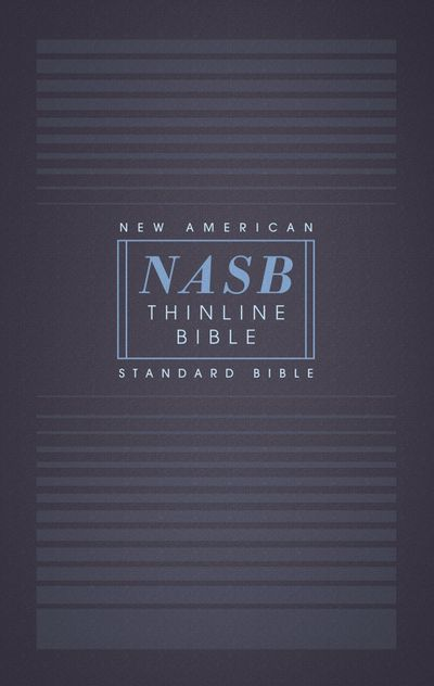 NASB Thinline Bible Red Letter Edition