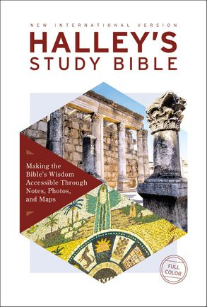 Cover image - NIV Halley's Study Bible Red Letter Edition