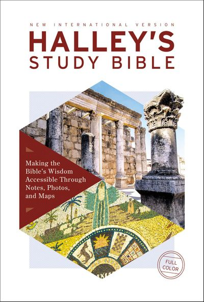 NIV Halley's Study Bible Red Letter Edition