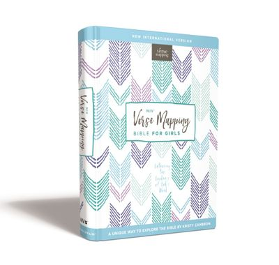 NIV Verse Mapping Bible For Girls, Hardcover, Comfort Print: Gathering The Goodness Of God's Word