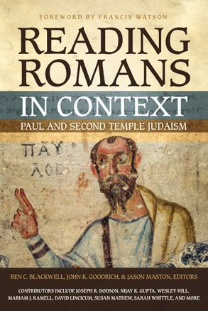 Cover image - Reading Romans in Context: Paul and Second Temple Judaism