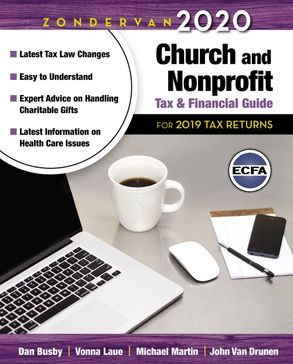Cover image - Zondervan 2020 Church And Nonprofit Tax And Financial Guide: For 2019 Tax Returns