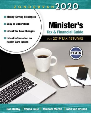 Cover image - Zondervan 2020 Minister's Tax And Financial Guide: For 2019 Tax Returns