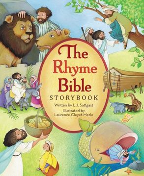 Cover image - The Rhyme Bible Storybook