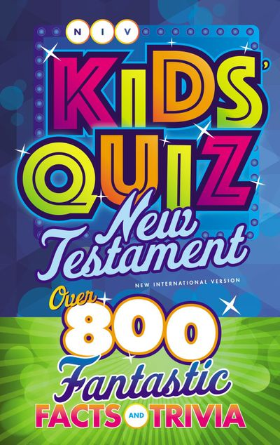 NIV Kids' Quiz New Testament