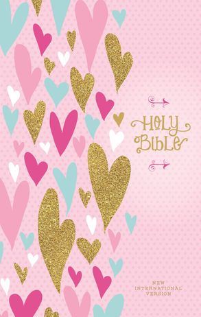 Cover image - NIV Heart Of Gold Holy Bible Red Letter Edition
