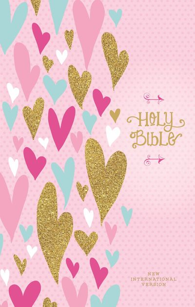 NIV Heart Of Gold Holy Bible Red Letter Edition