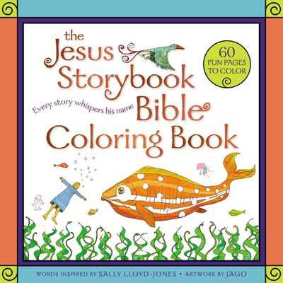 The Jesus Storybook Bible Coloring Book: Every Story Whispers His Name