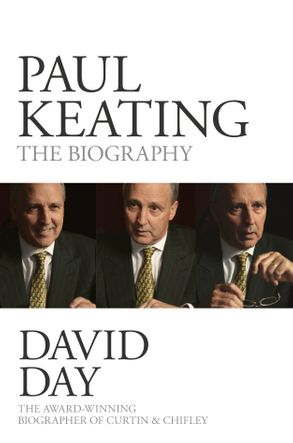 Cover image - Paul Keating
