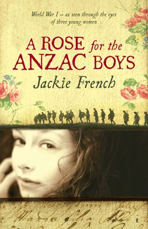 Cover image - A Rose for the Anzac Boys