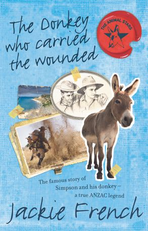 Cover image - The Donkey Who Carried the Wounded