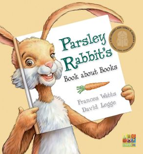 Cover image - Parsley Rabbit's Book About Books