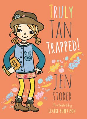 Cover image - Truly Tan: Trapped!