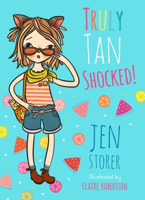 Cover image - Truly Tan Shocked
