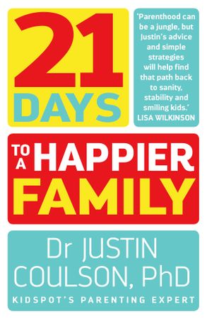 Cover image - 21 Days to a Happier Family