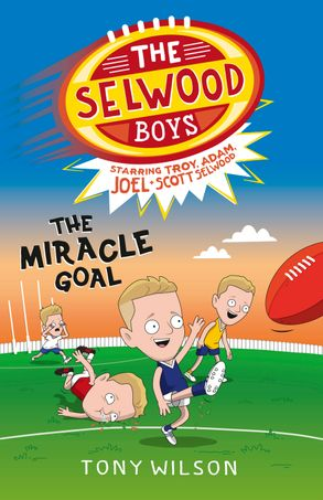 Cover image - The Miracle Goal (The Selwood Boys, #2)